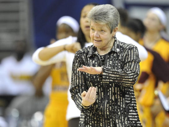 Central Michigan's Sue Guevara formerly coached at