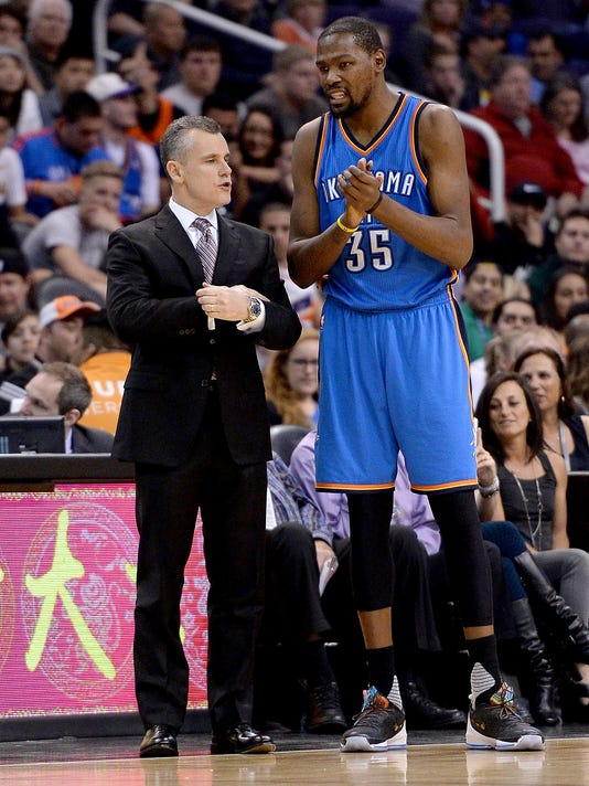 Billy Donovan Kevin Durant
