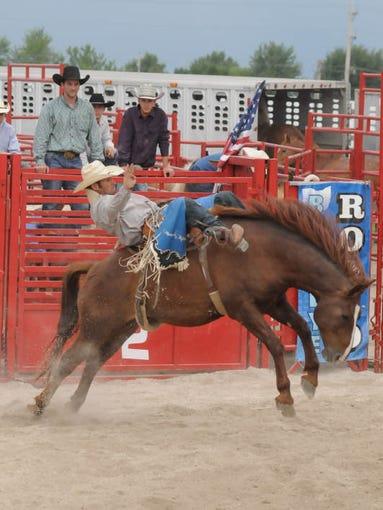 July 14, 2014 Buckeye Rodeo at Crawford County Fair