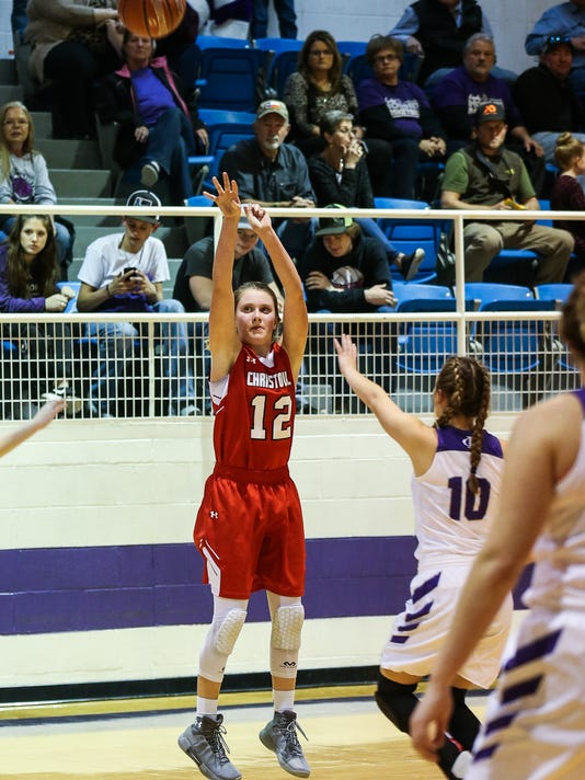 Irion County vs Christoval girls basketball Jan. 23, 2018