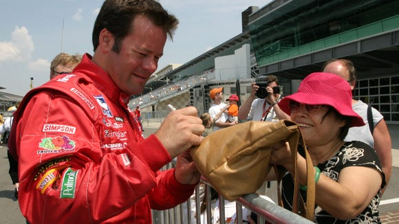Former Indianapolis 500 driver Robby Gordon hopes to bring his exciting stadium super truck series to IMS on Carb Day.