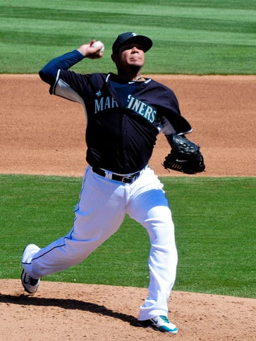 Felix Hernandez is 5-0 with a 1.52 ERA in previous