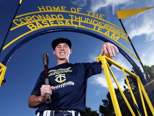 Four-year starter shortstop Dominic Grissom of Coronado