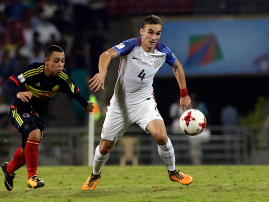 AP INDIA COLOMBIA US SOCCER UNDER 17 WCUP S SOC, WCUP IND