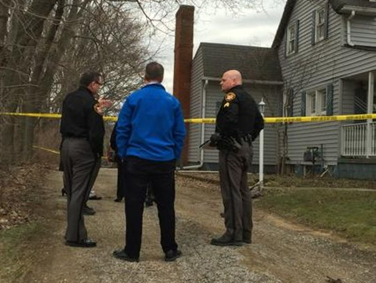 Sheriff's deputies, prosecutors at scene of suspicious