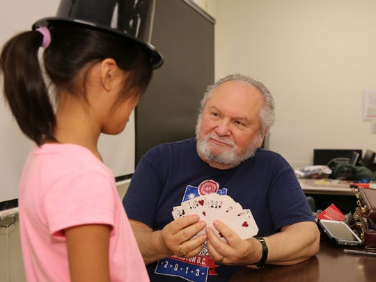 Gene Soucek of Edison concluded an 11-year run as magician-in-residence at Middlesex County College's summer camp.