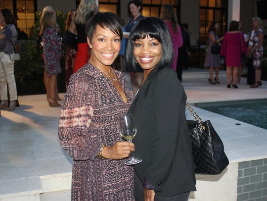 Kimberly Lewis and Marcie Mason at Nashville Wine Auction's