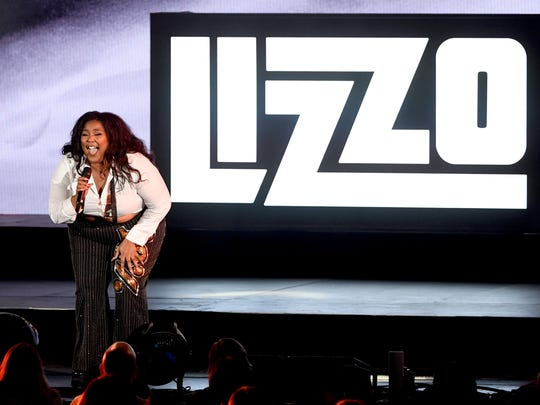 Detroit-born Lizzo received Grammy Award nominations for album, record and song of the year, as well as best new artist.