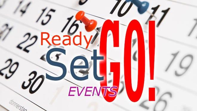 Ready Set Go Header - graphic illustration