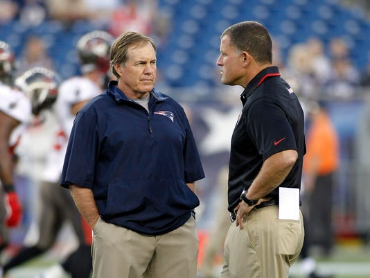 Belichick, Schiano stand out as kindred coaches