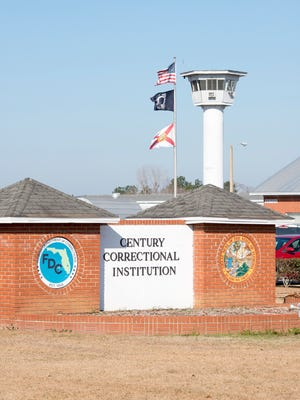 The Century Correctional Institution in Century, Florida on Tuesday, January 30, 2018.