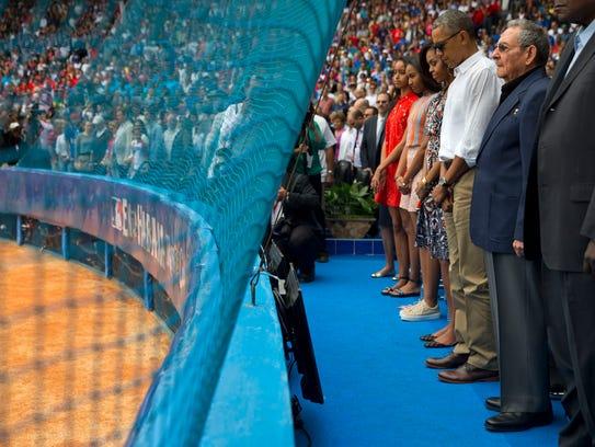 President Obama, Cuban Cuban President Raul Castro