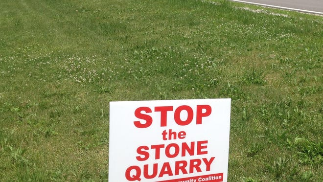 Americus residents have rallied to stop a proposed stone quarry.
