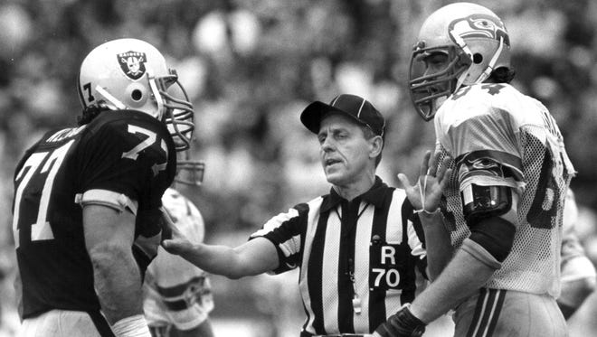 Former NFL referee Jerry Seeman kept peace on the field for many years.