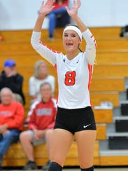 Paige Hintz and the Pacelli volleyball team have had