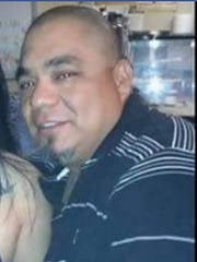 Police in Robstown say Ruben Cantu Jr. (pictured) was shot several times during Thanksgiving weekend and died at a hospital in Corpus Christi. Julian Rodolfo Vela, 38, has been charged in his death.