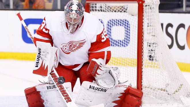 The Red Wings need a better performance out of goalie Jimmy Howard this season.
