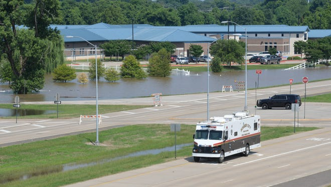 The Northwest Louisiana War Veterans Home in Bossier City has not been forced to evacuate yet but it may be necessary soon.