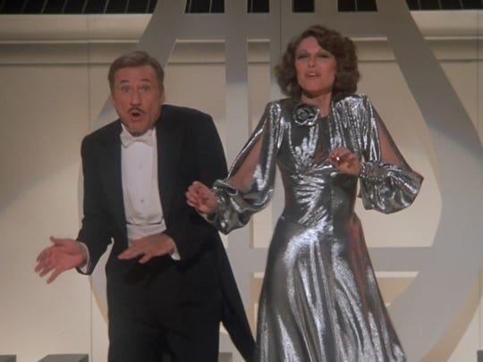 """Real-life couple Mel Brooks and Anne Bancroft, seen here in """"To Be or Not to Be,"""" also appeared together in Brooks' """"Silent Movie."""""""