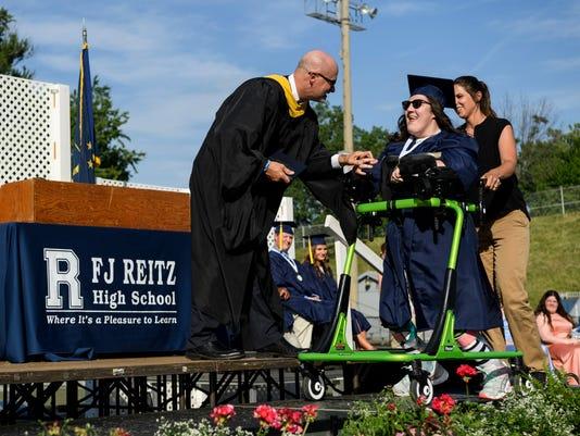 1 Megan Durre Reitz HS Graduation