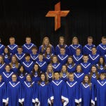 The Singing Saints of St. Paul Lutheran High School will be in concert at 7 p.m. Friday at Trinity Lutheran Church on Oliver Road.