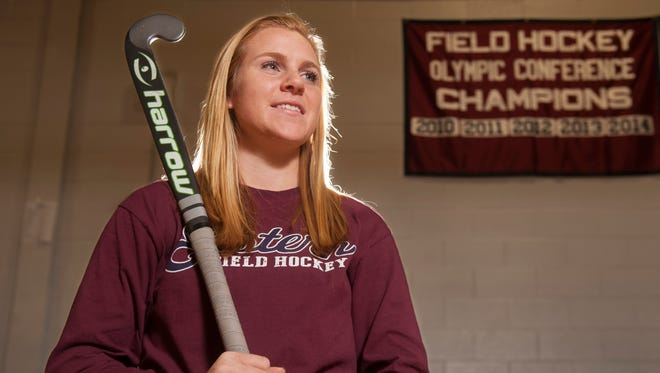 Eastern senior forward Austyn Cuneo is the 2014 Courier-Post Field Hockey Player of the Year. Cuneo, who had 95 goals and 27 assists this season, receives the honor for the fourth straight year.