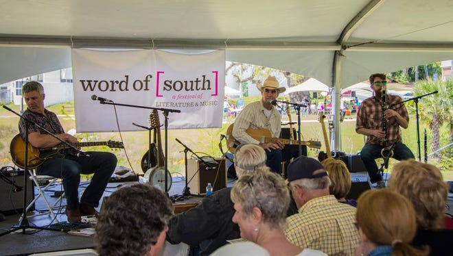 The 2nd annual Word of South Festival featured many different writers and musicians.