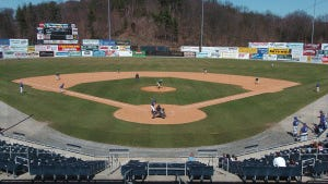 A college team plays at Skylands Park in Augusta in this 2005 file photo. (Warren Westura)