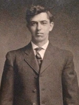 A portrait of Freeman Barber, circa 1912. He died in 1967 a few days shy of his 84th birthday.