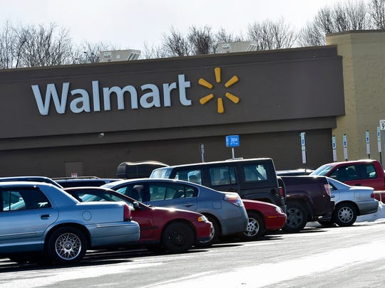 A new Walmart, like the one show here on  Friday, Jan. 29, 2016, in Guilford Township, is still planned fives miles away in Hamilton Township.