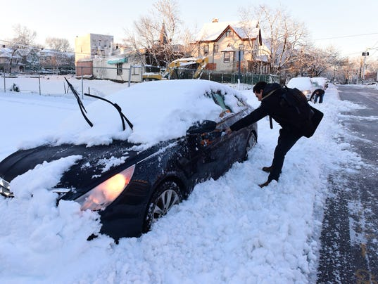 Digging out of Snow