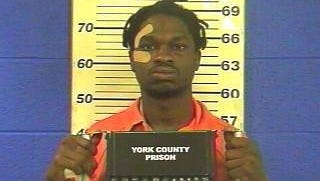 Samuel Jamaal Daniels, 28, of no fixed address, was arrested for aggravated assault