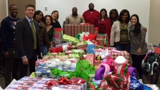 Alabama Power delivers Christmas gifts to area children.