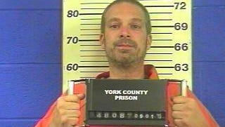 Gregory William Fabie, 40, of Red Lion, who faces DUI charges after he was pulled from a burning car Dec. 28, 2015. Photo taken during Fabie's last stay at York County Prison in 2015.