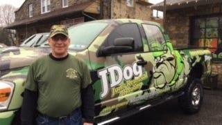 Sean Haney, of Springettsbury, began operating his JDog Junk Removal & Hauling franchise in December.