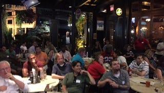 Earlier Greater Cincinnati Politics Facebook Group debate watch party