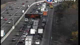 A multi-vehicle crash is blocking several lanes of Interstate 65 north in Brentwood