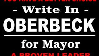 David Oberbeck launched a write-in campaign Friday, March 4, 2016 for April 5 mayoral race in Wausau.
