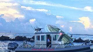 The U.S. Coast Guard says Fernandez was one of three people killed in a boat crash off Miami Beach early Sunday.