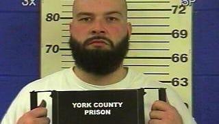 Jason M. Klinedinst, 36, of York. Photo taken in 2011 when Klinedinst was in York County Prison on a parole violation.
