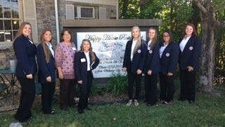 Students attending HOSA Conference