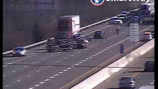 Crash on I-24 W near Haywood Lane