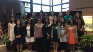 Novi Youth Assistance recently recognized efforts by local middle and high school students.