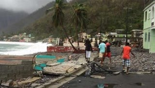Hurricane Maria has left destruction and devastation in its wake. Dominica was left in ruins in the aftermath. A Wauwatosa man who grew up on the island has started to collect supplies.