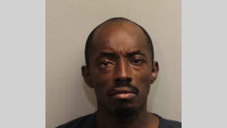 Jimmy Baity, 45, faces charges of burglary with assault, aggravated battery with a deadly weapon and violating a domestic violence injunction.