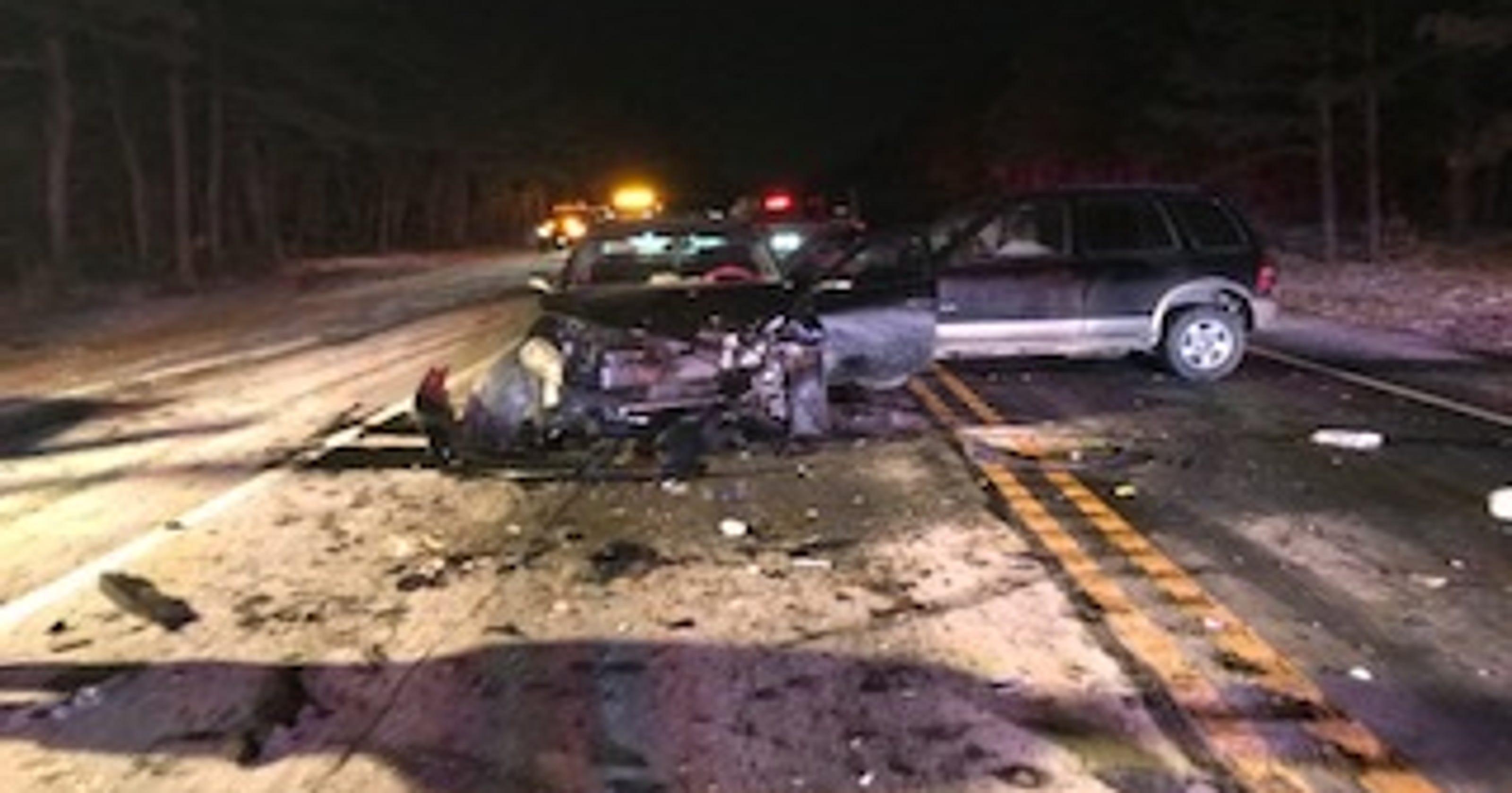 teen led to manchester 3-car crash, cops say