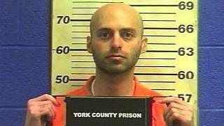 Zachary Witman in a 2017 prison mug shot.