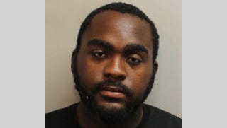 Wilder Joseph, 26, faces charges of counterfeiting license plates, a third-degree felony.