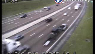 Traffic on I-240 near Tenn. 385 as seen Wednesday afternoon on a SmartWay camera.
