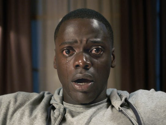 Chris (Daniel Kaluuya) is taken to a bad place in 'Get
